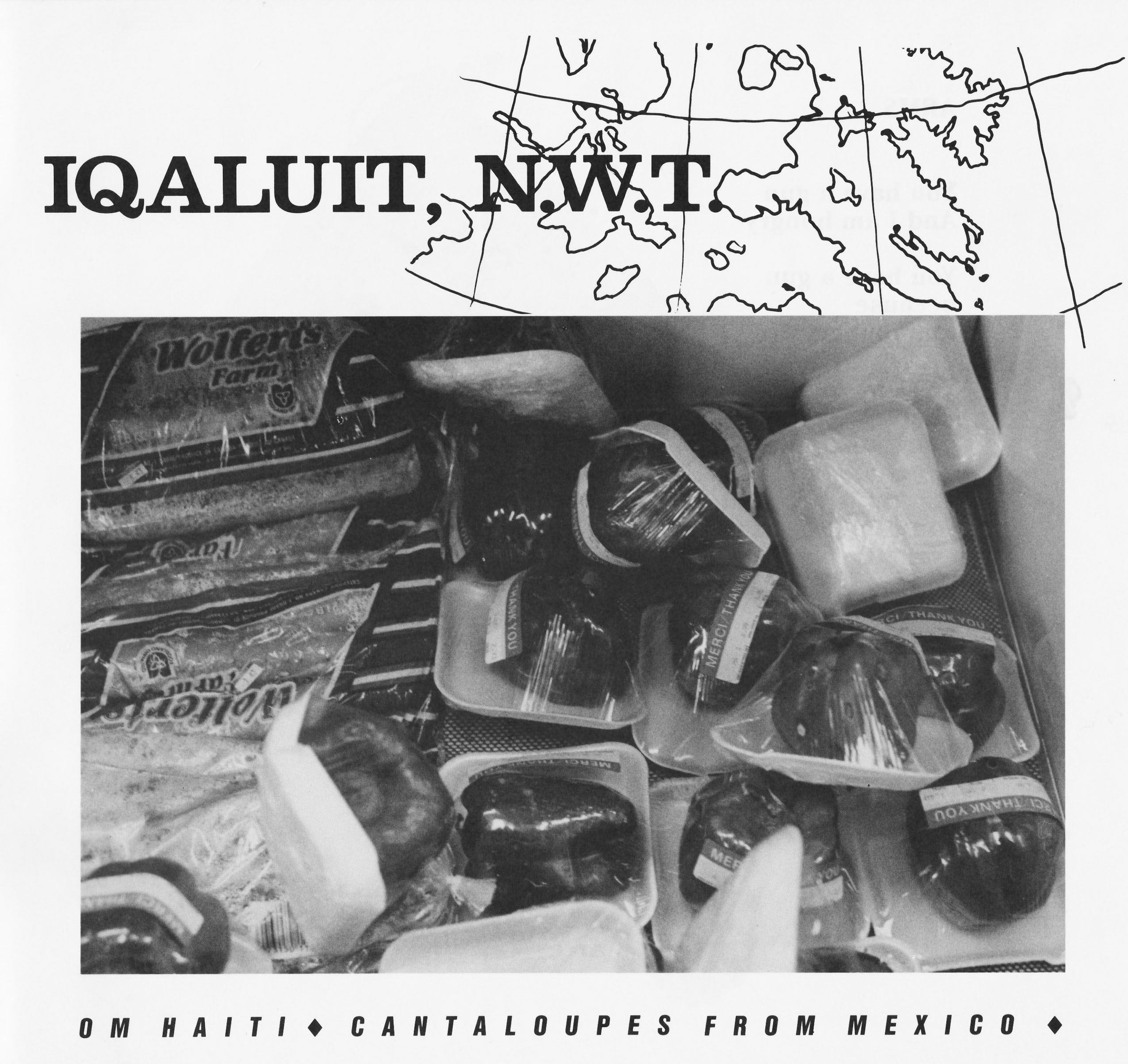 Iqaluit - from catalogue from The Global Menu